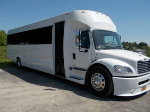 F650 Party Bus Exterior up to 35 ppl, Wine Tours, Weddings, Prom