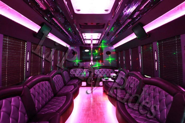 F650 Party Bus Interior