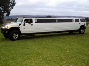 Hummer Single Axle Limousine Exterior