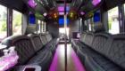 Tiffany Party Bus Interior