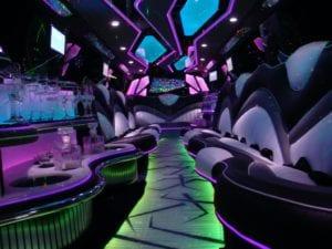 Range Rover Limousine Interior