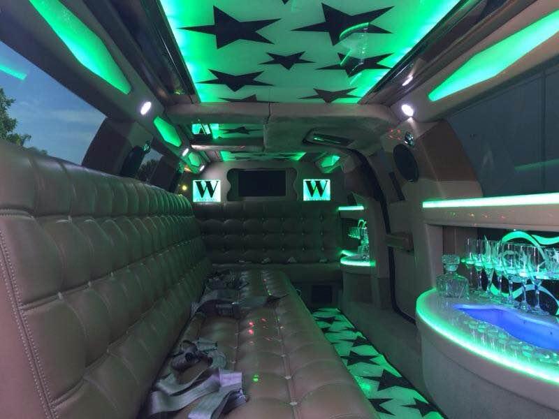 Mercedes Limousine Interior