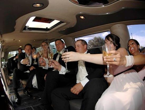 long island wedding limousine service