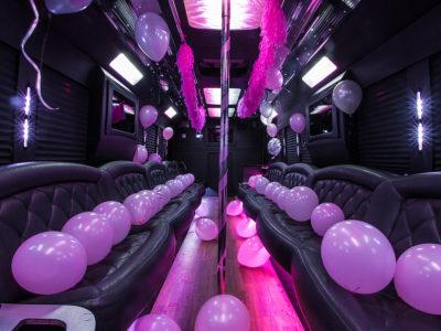 tiffany party bus Birthday