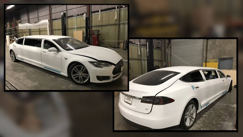 Tesla Model S Limo