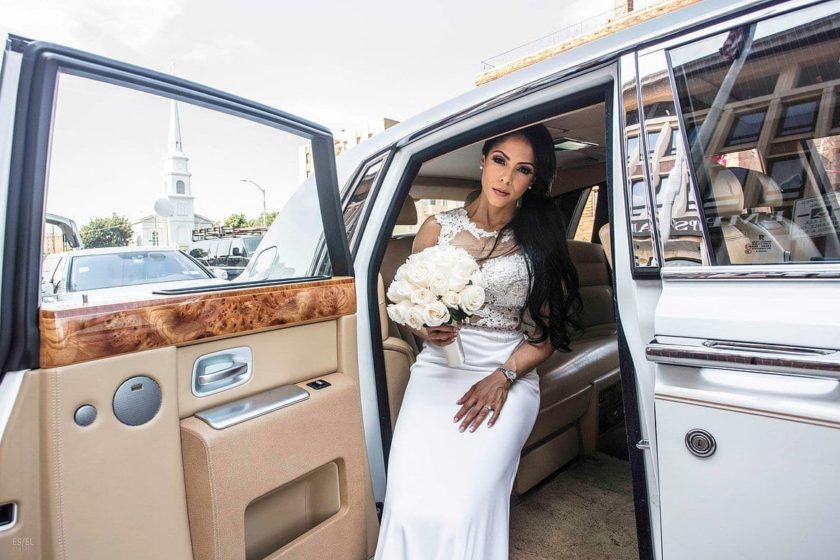 rent a wedding limo