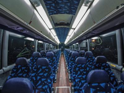 50 passenger Coach Buses
